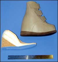2.5 inch Internal Heel Lift