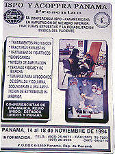 Poster of the ISPO & ACOPPRA regional meeting in Panama.