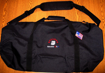 "Prosthetic Storage Duffel Bag, BK - 8""x32"""