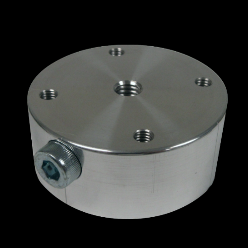 57mm Standard Pediatric Thermoforming Dummy, Aluminum w/Side Bolt (for Push Button)