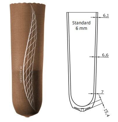 Sensitive™ 6C Liner - Cushion