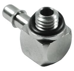 90 Degree Stainless Steel Adjustable Barb